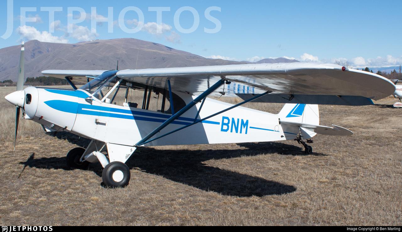 ZK-BNM - Piper PA-18-150 Super Cub - Aero Club - Canterbury