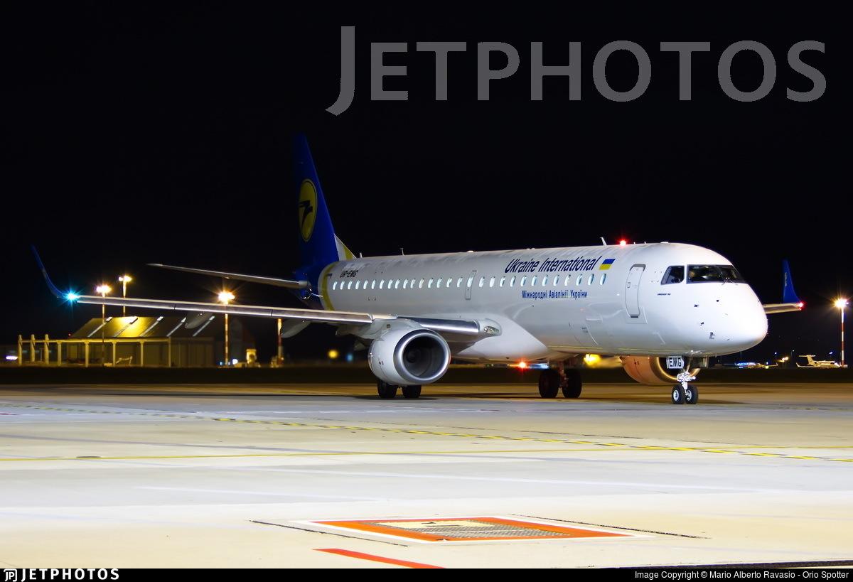 UR-EMG - Embraer 190-200IGW - Ukraine International Airlines