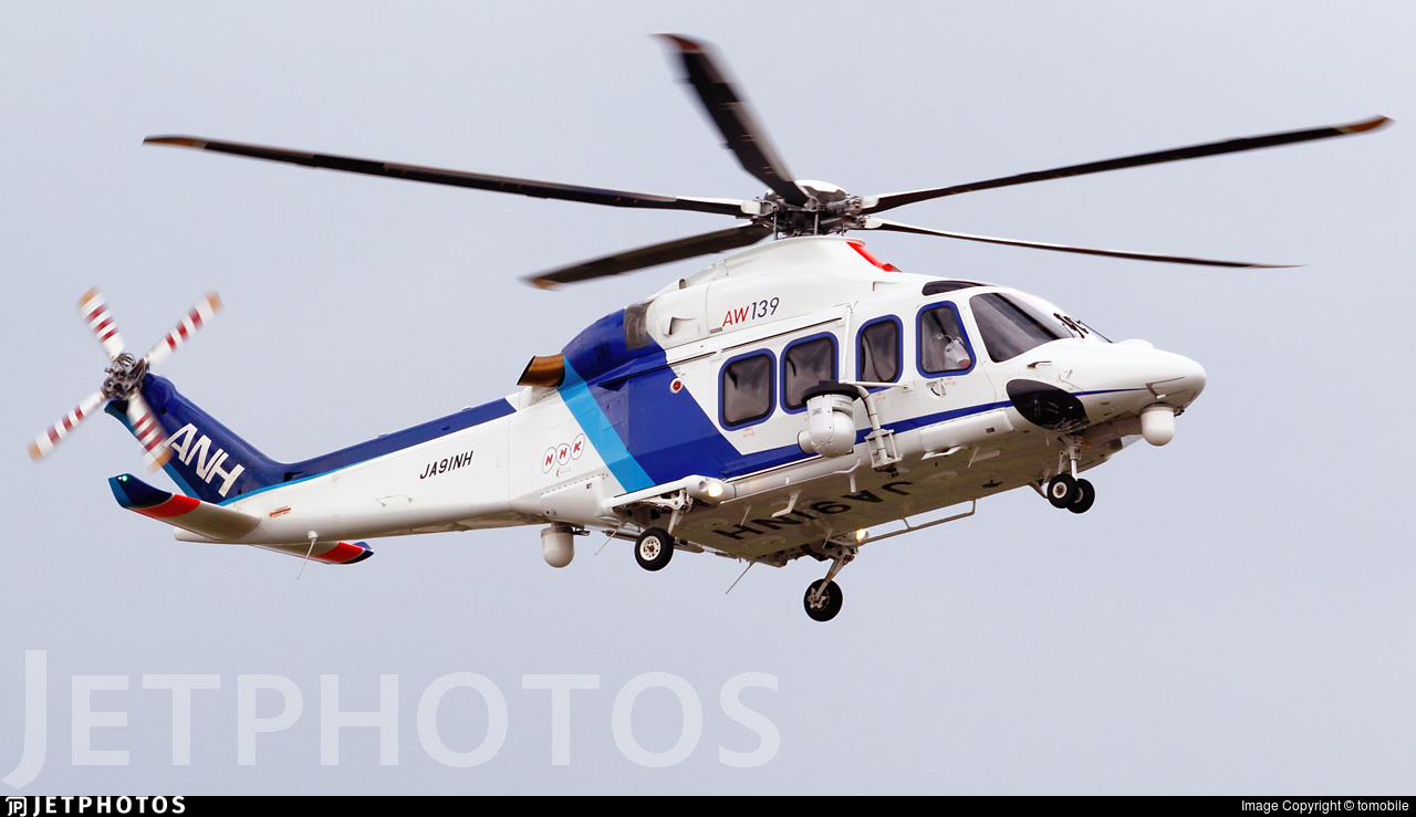JA91NH - Agusta-Westland AW-139 - All Nippon Helicopter