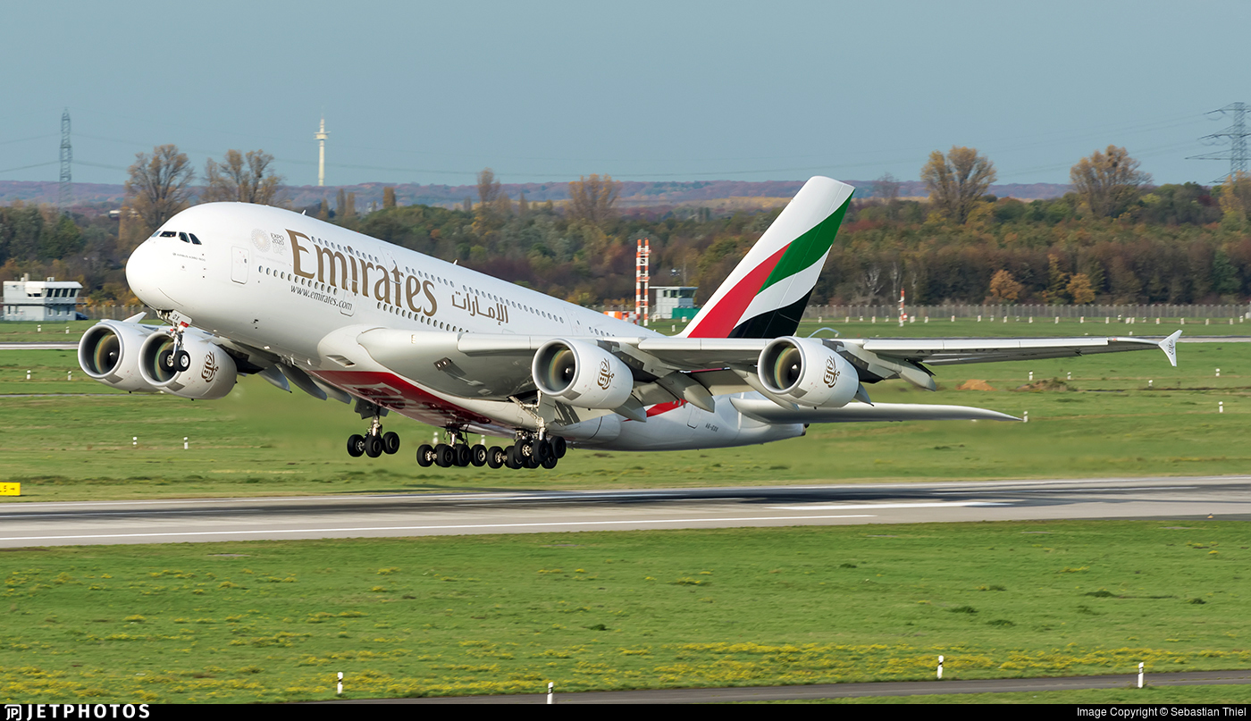 A6-EOX - Airbus A380-861 - Emirates