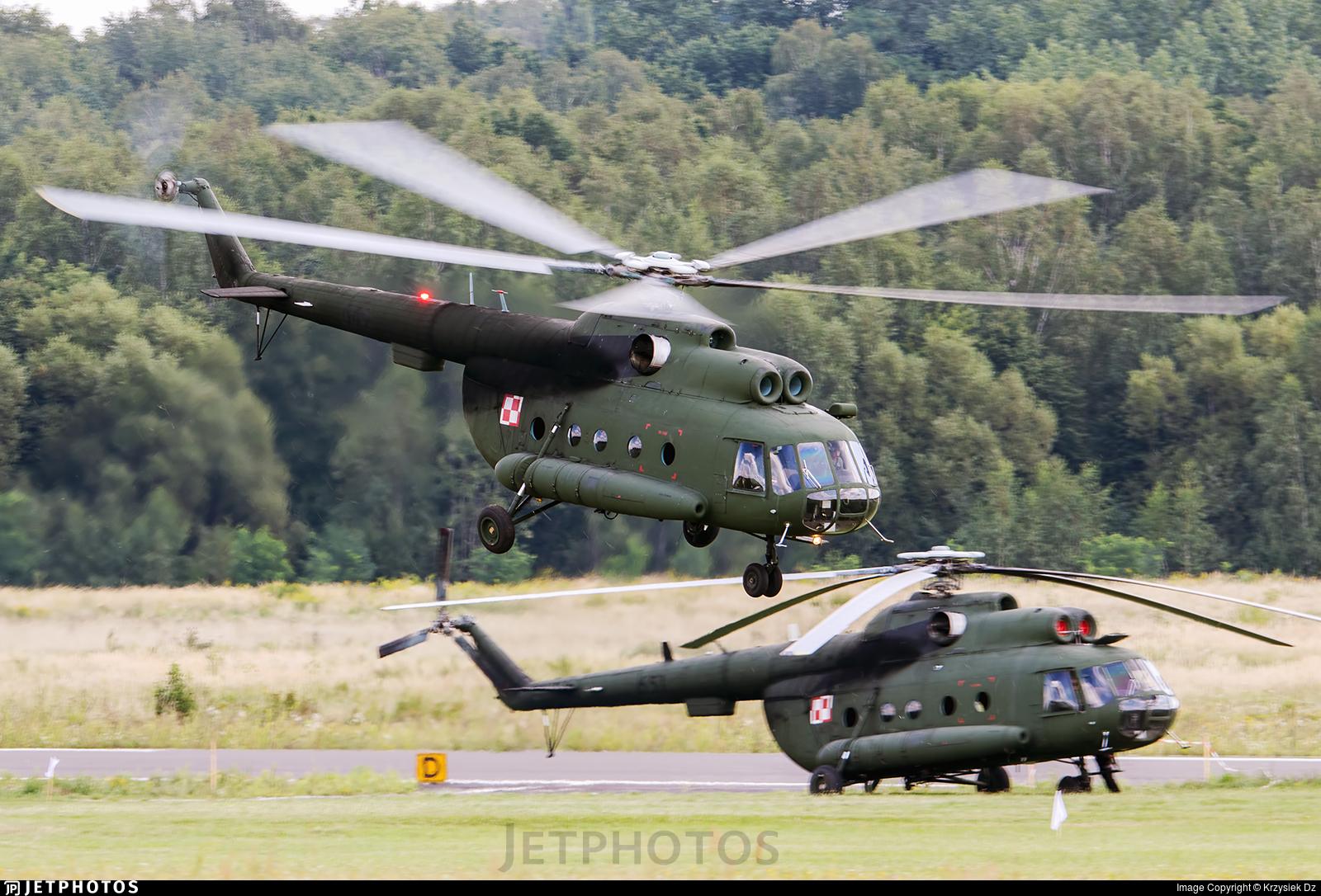 649 - Mil Mi-8T Hip - Poland - Army