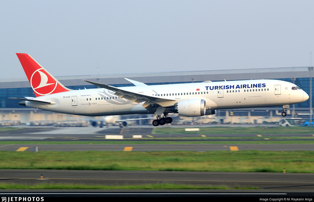 TC-LLD - Boeing 787-9 Dreamliner - Turkish Airlines