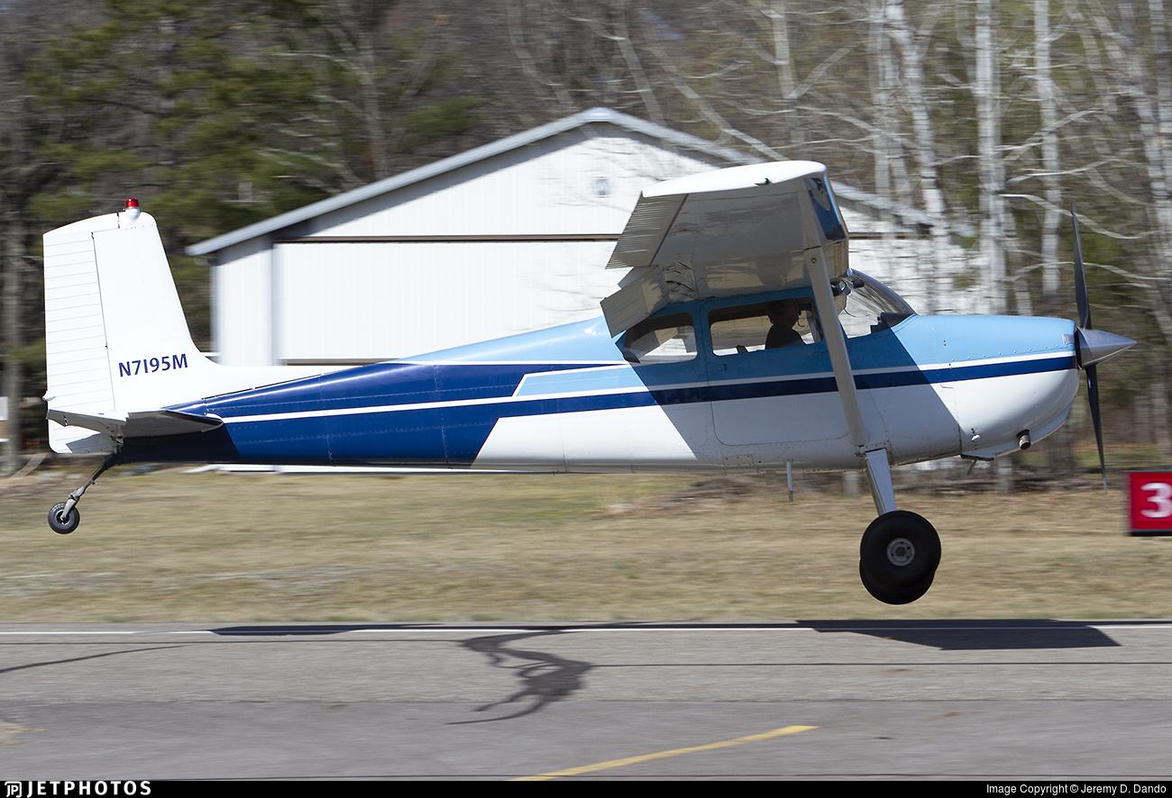 N7195M - Cessna 175 Skylark - Private