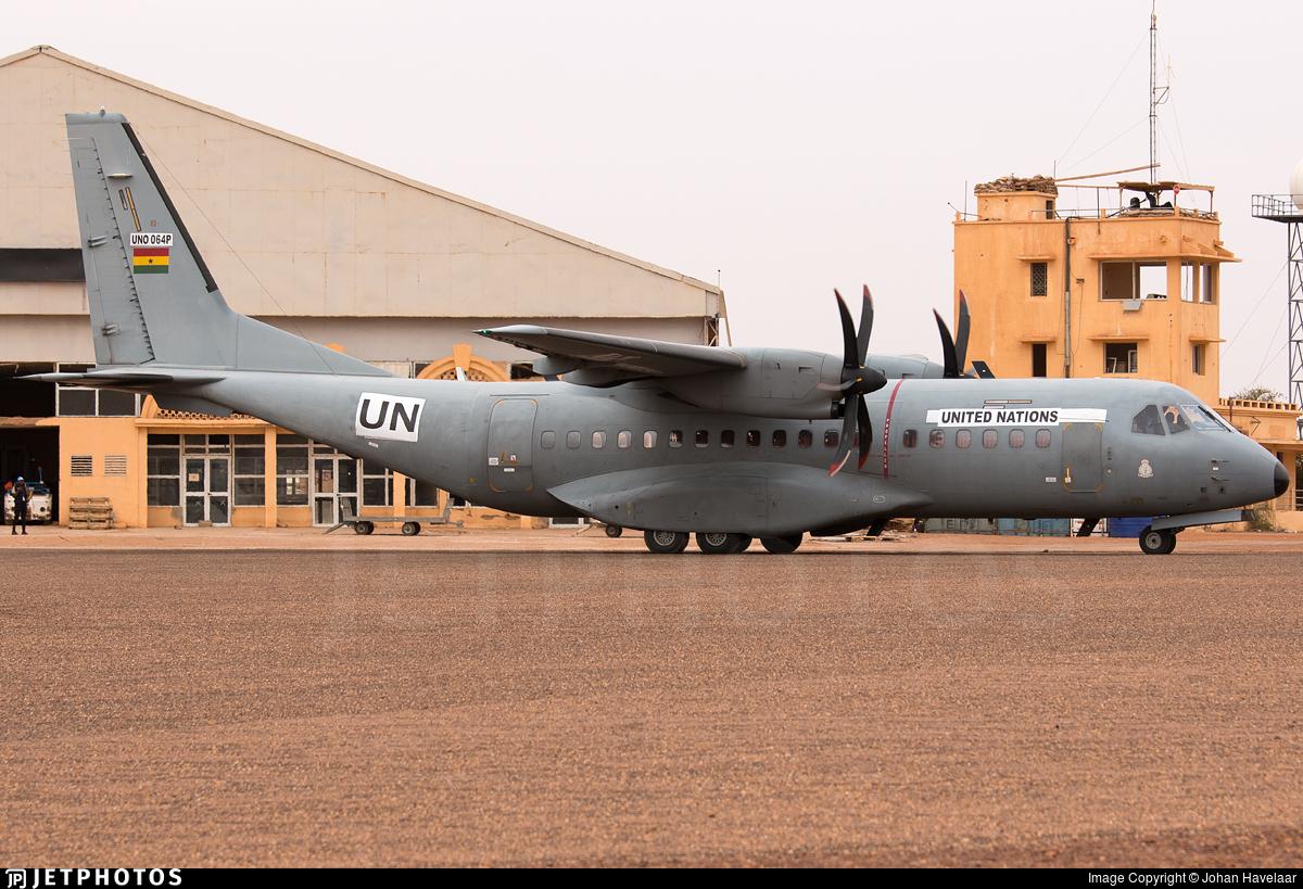 UNO-064P - CASA C-295M - Ghana - Air Force