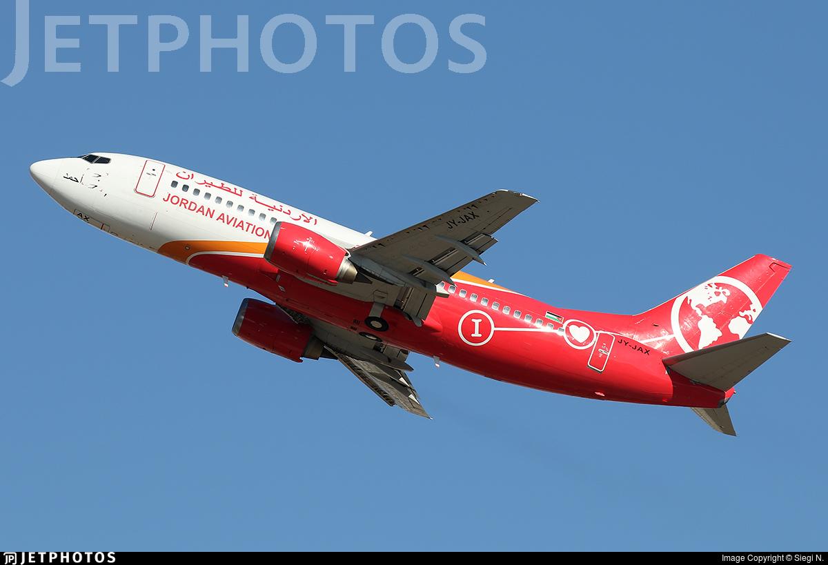 JY-JAX - Boeing 737-322 - Jordan Aviation