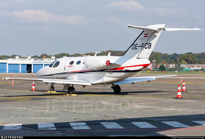 OE-FCB - Cessna 510 Citation Mustang - GlobeAir