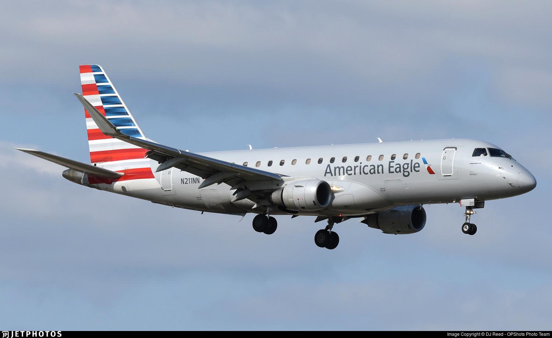 N211NN - Embraer 170-200LR - American Eagle (Envoy Air)