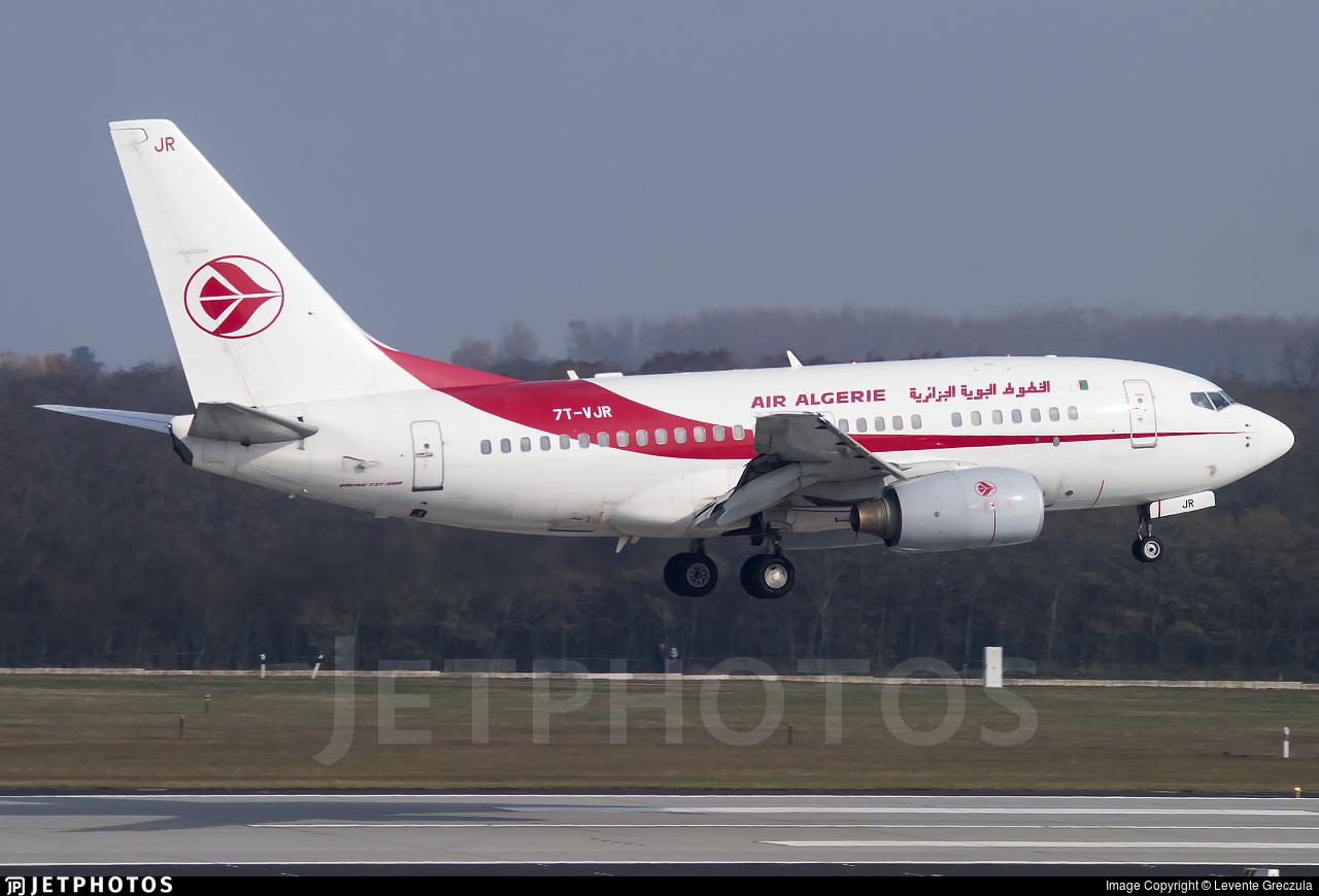 7T-VJR - Boeing 737-6D6 - Air Algérie