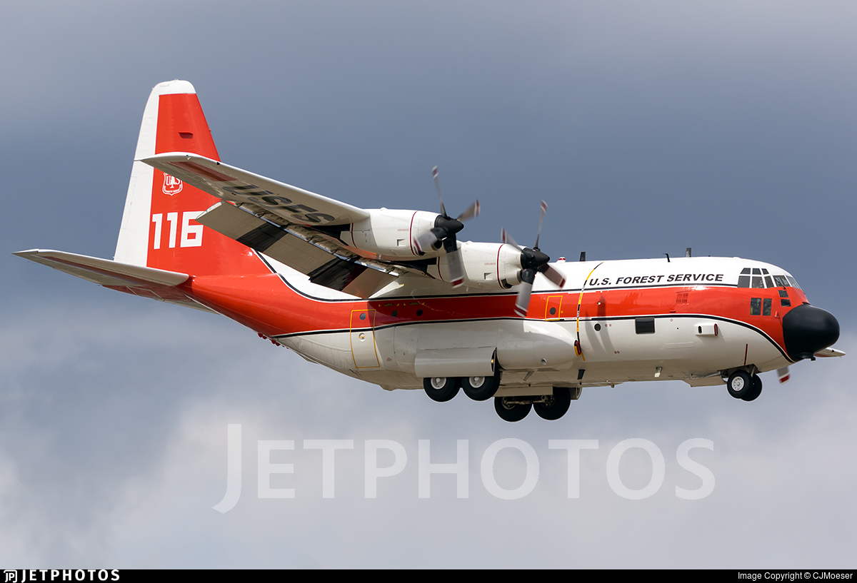 1708 - Lockheed HC-130H Hercules - United States Forest Service