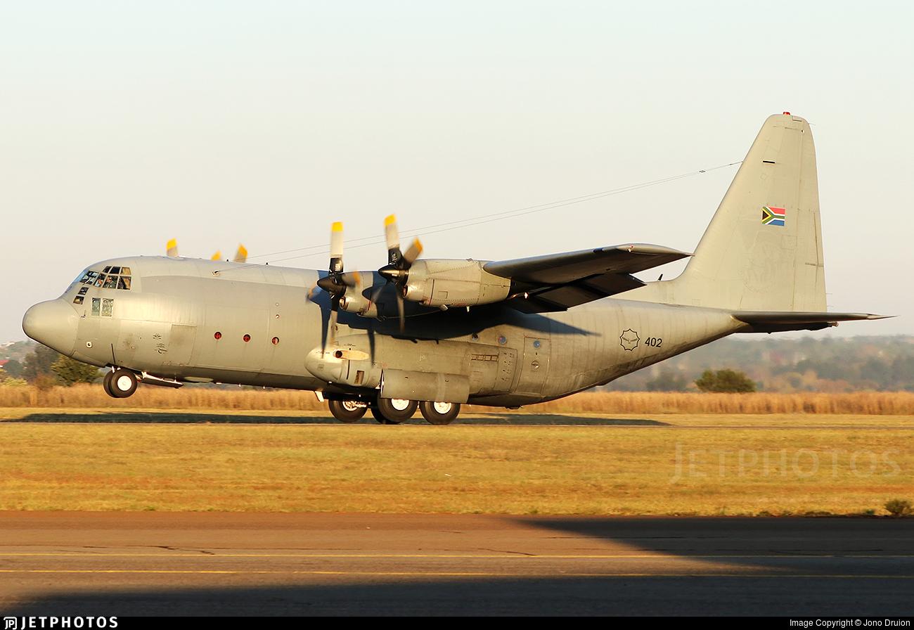 402 - Lockheed C-130B Hercules - South Africa - Air Force