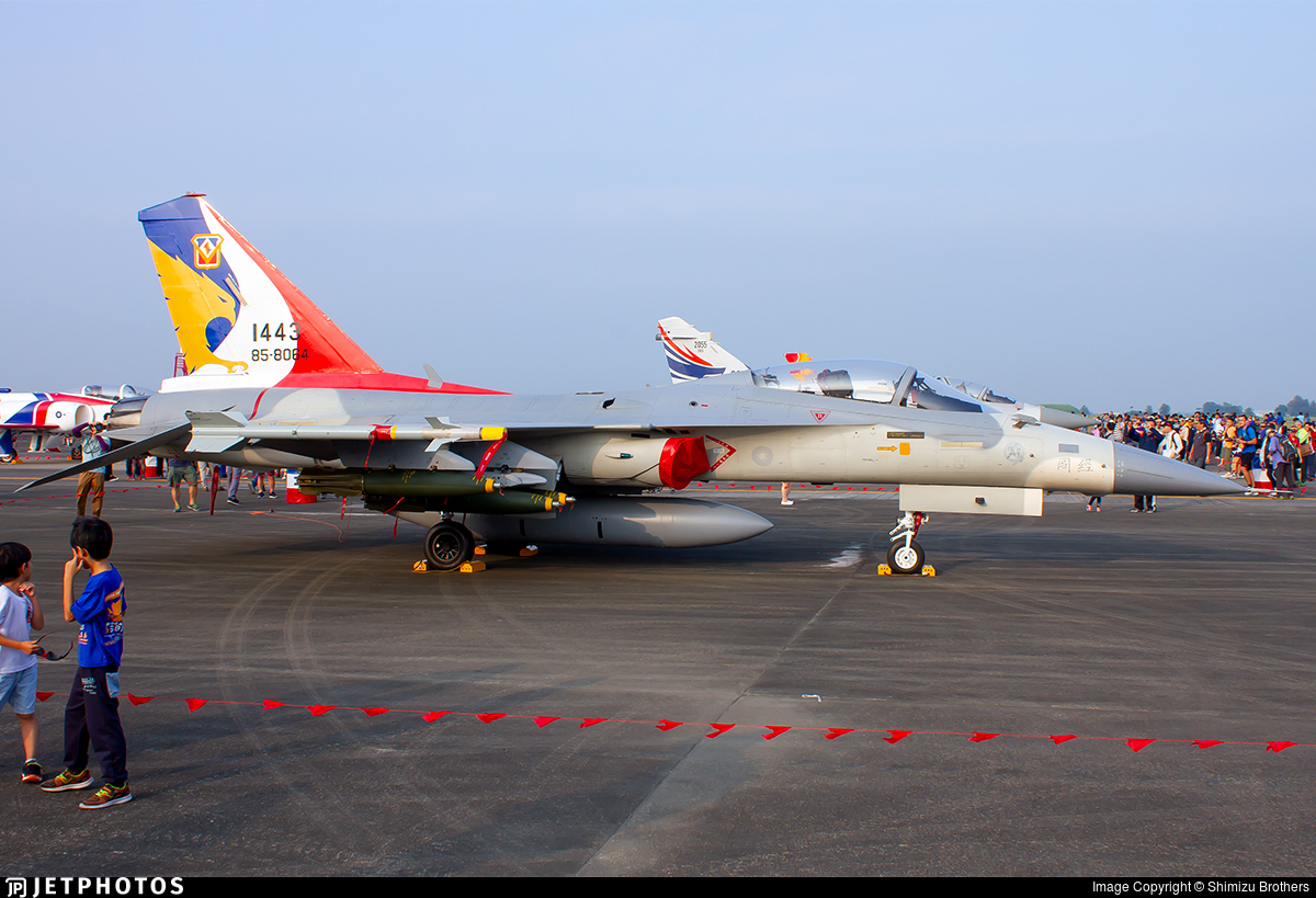 1443 - AIDC F-CK-1C Ching Kuo - Taiwan - Air Force
