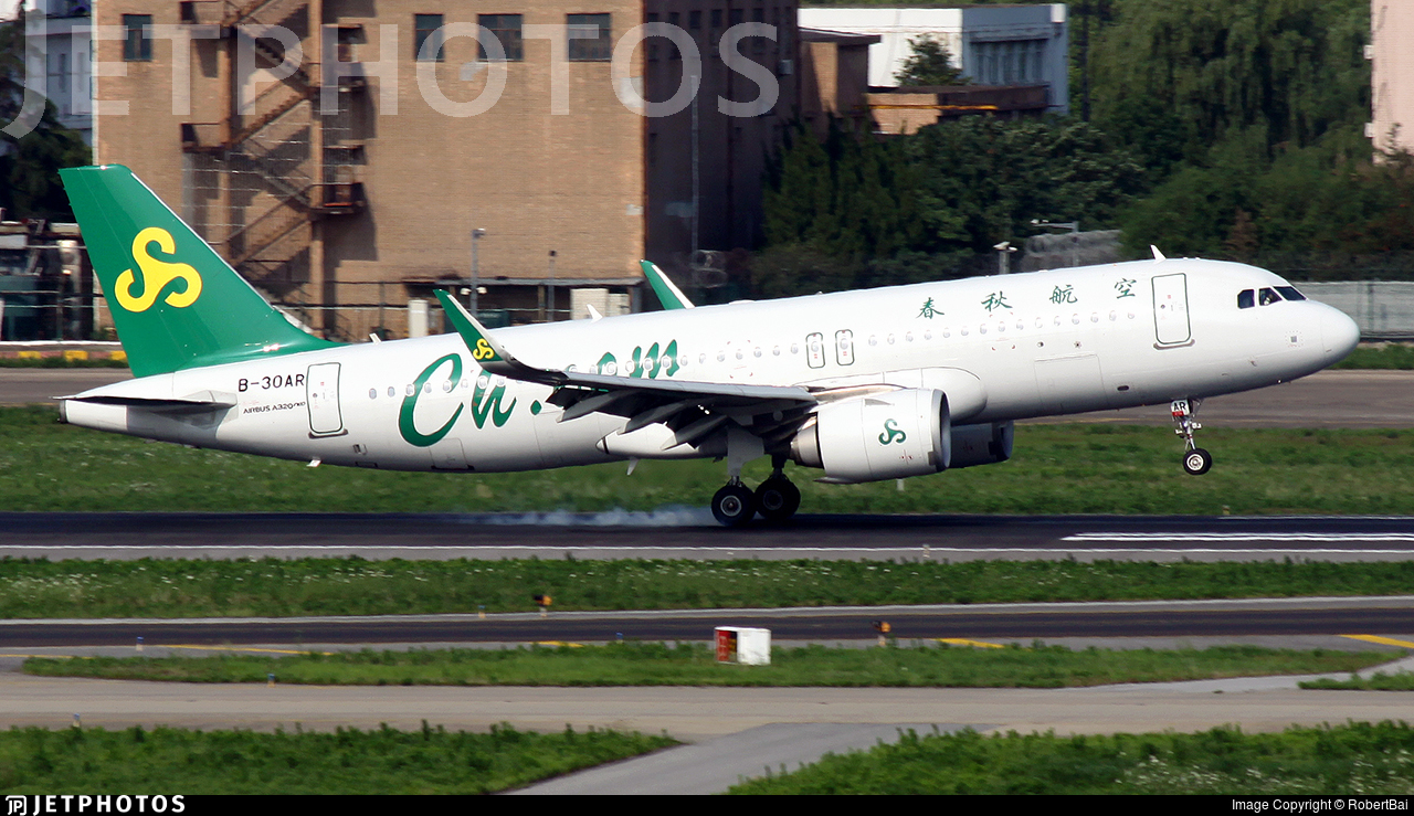 B-30AR - Airbus A320-251N - Spring Airlines
