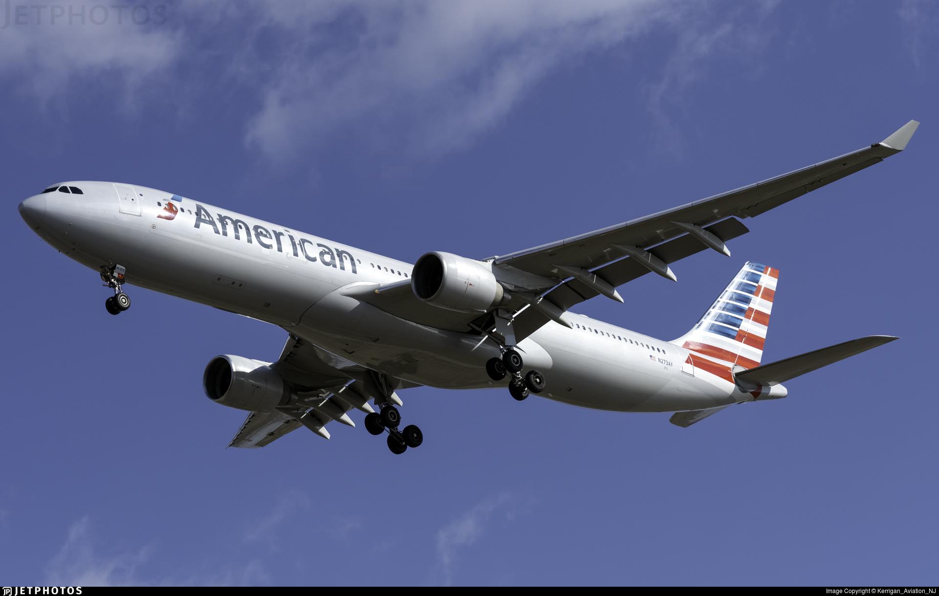 N273AY - Airbus A330-323 - American Airlines