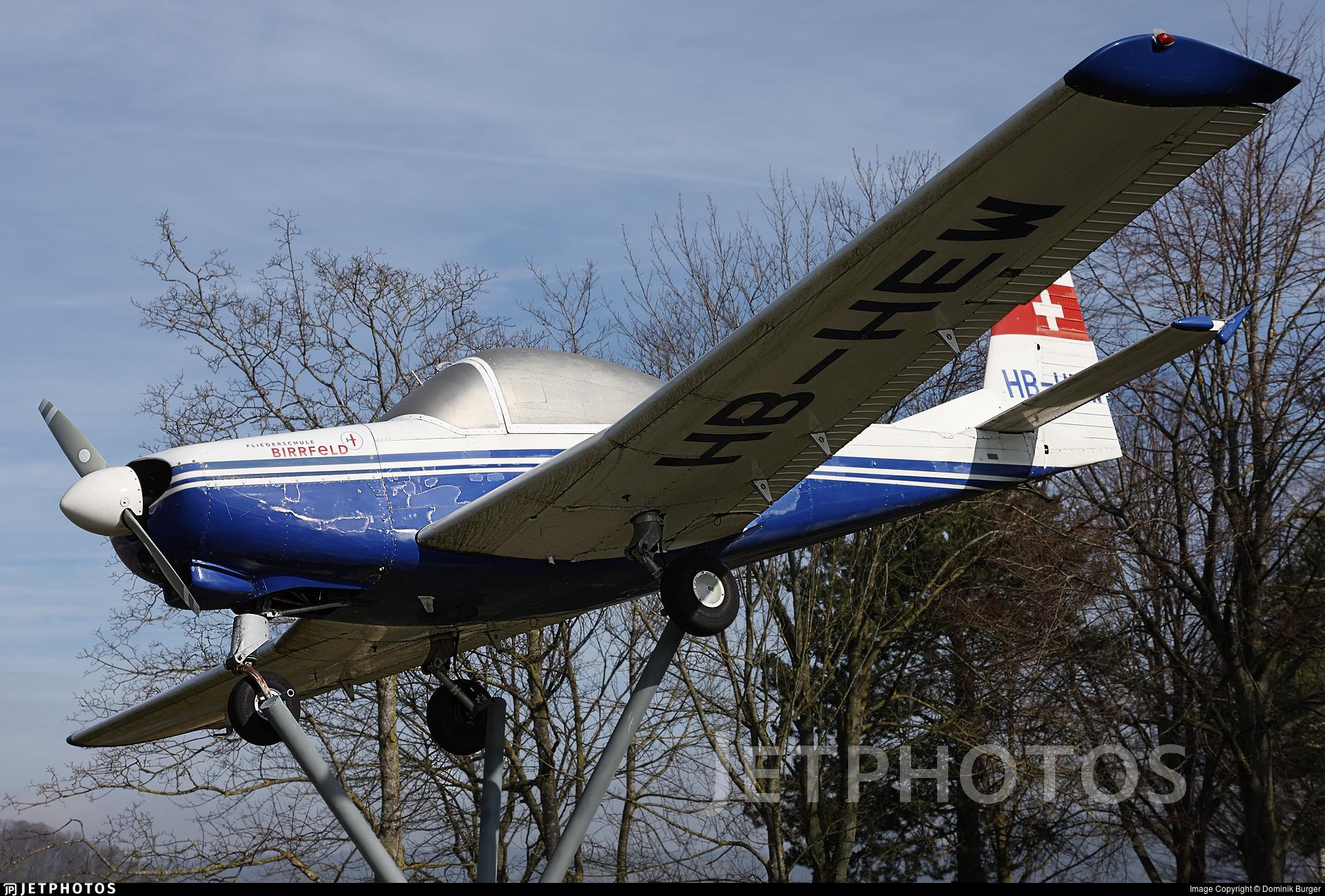 HB-HEW - FFA AS-202/15 Bravo - Fliegerschule Birrfeld
