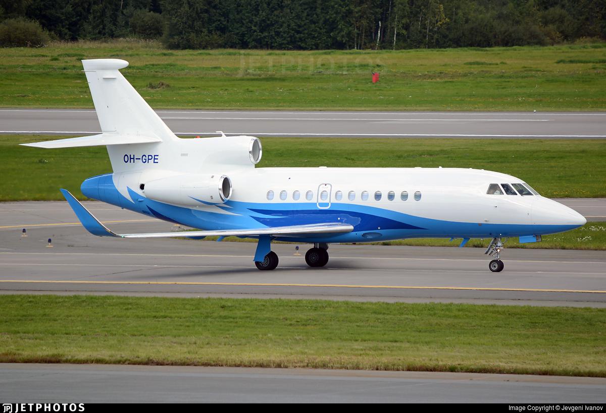 OH-GPE - Dassault Falcon 900LX - Airfix Aviation