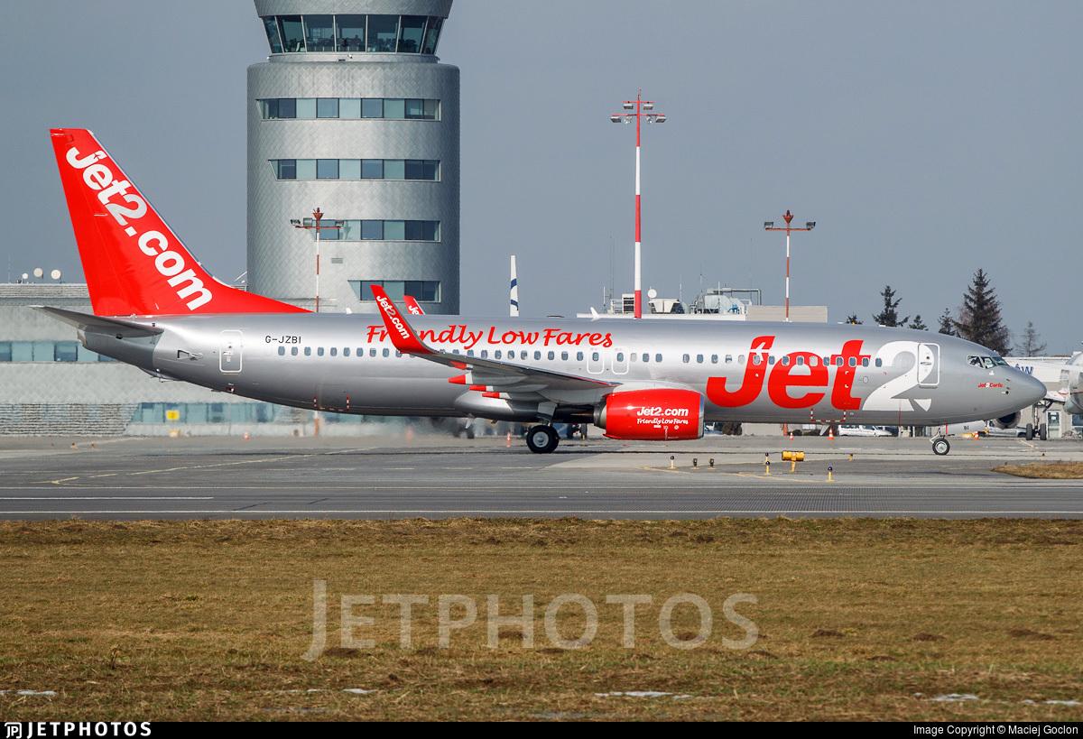 G-JZBI - Boeing 737-8MG - Jet2.com