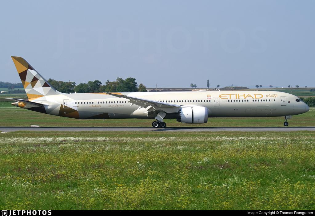A6-BMF - Boeing 787-10 Dreamliner - Etihad Airways