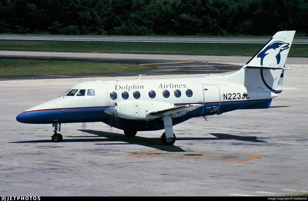 N223JL - British Aerospace Jetstream 31 - Dolphin Express Airlines