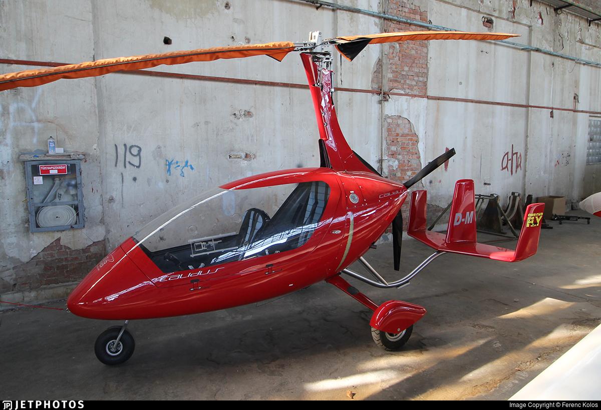 D-MGYC - Autogyro Europe Calidus 09 - One-Two-Fly
