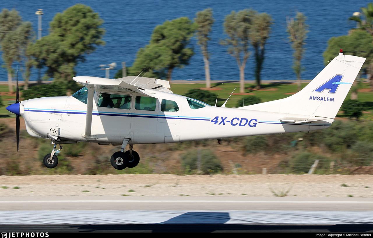 4X-CDG - Cessna 210E Centurion - Megiddo Aviation