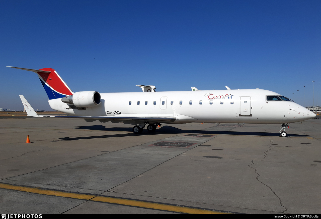 ZS-CMB - Bombardier CRJ-100ER - CemAir