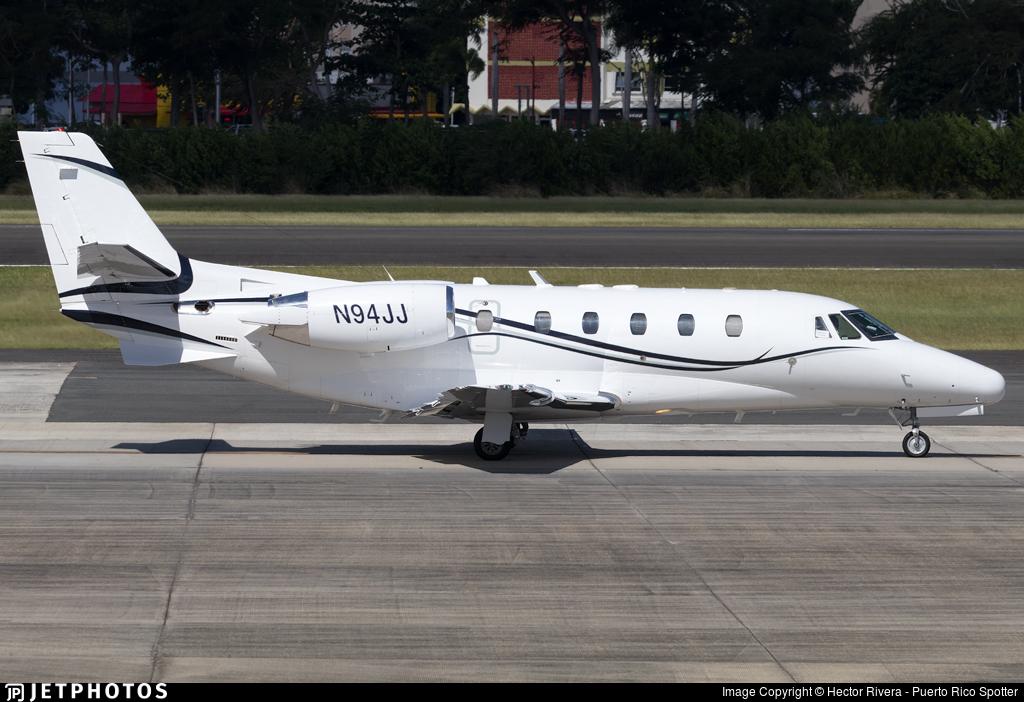 N94JJ - Cessna 560XL Citation Excel - Private
