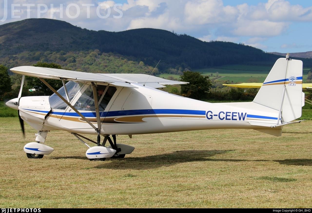 G-CEEW - Ikarus C-42 FB100 - Private