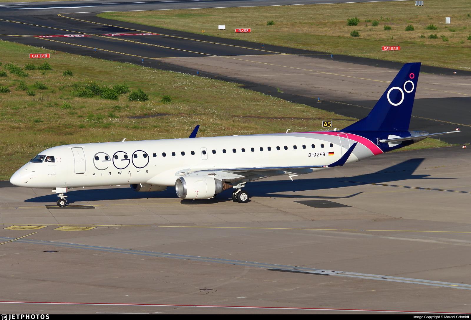 D-AZFB | Embraer 190-100LR | EGO Airways | Marcel Schmidt