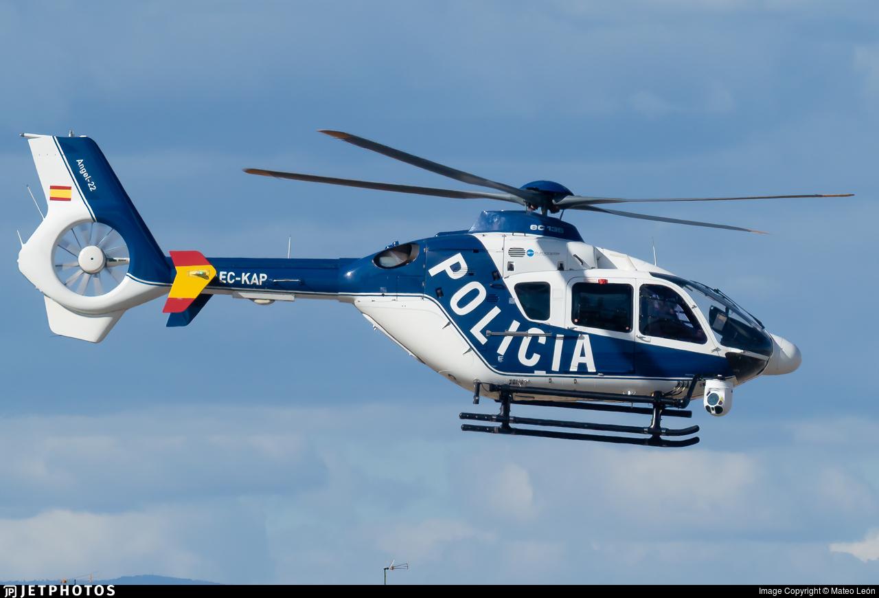 EC-KAP - Eurocopter EC 135P2 - Spain - National Police
