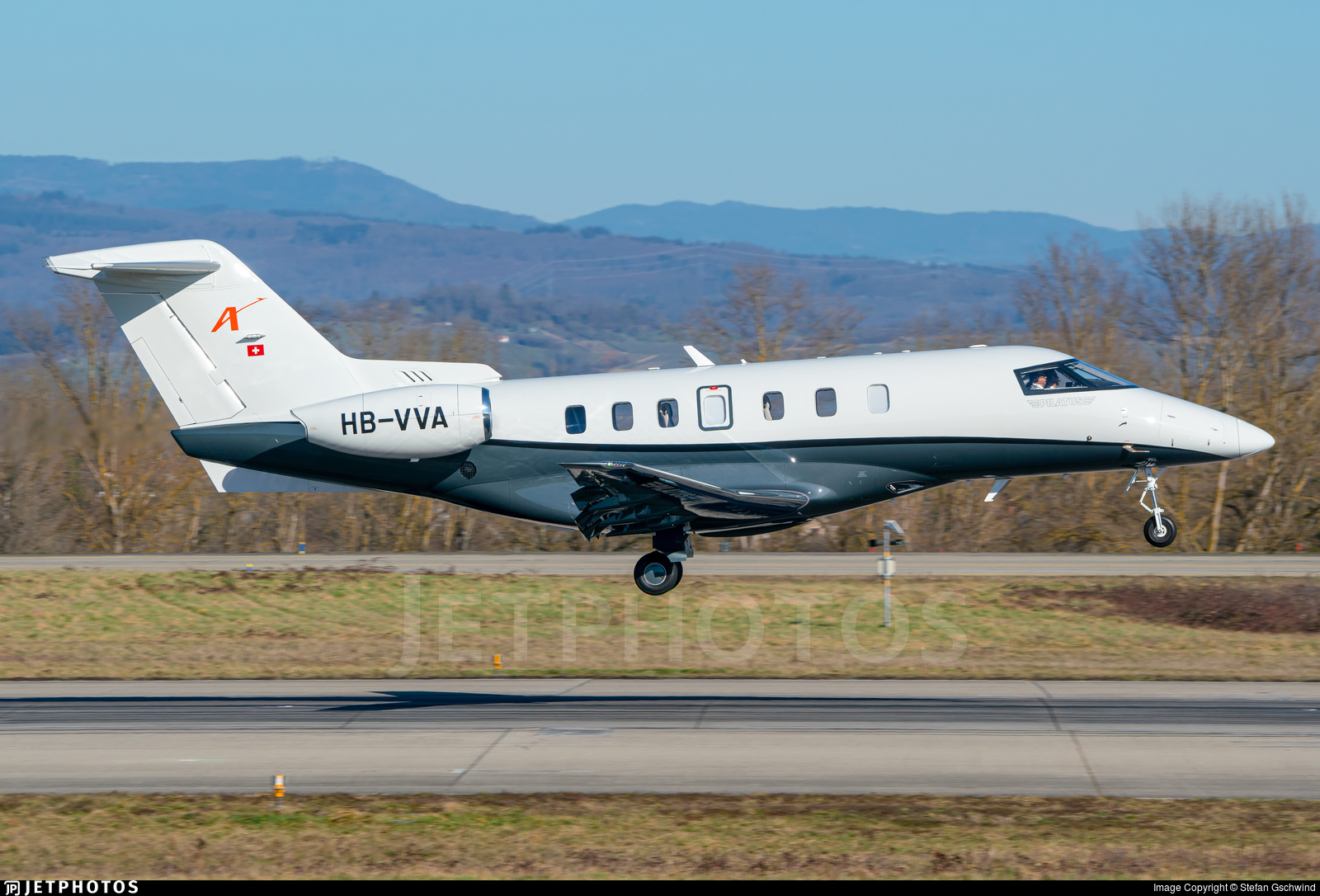 HB-VVA - Pilatus PC-24 - AMAC Aerospace