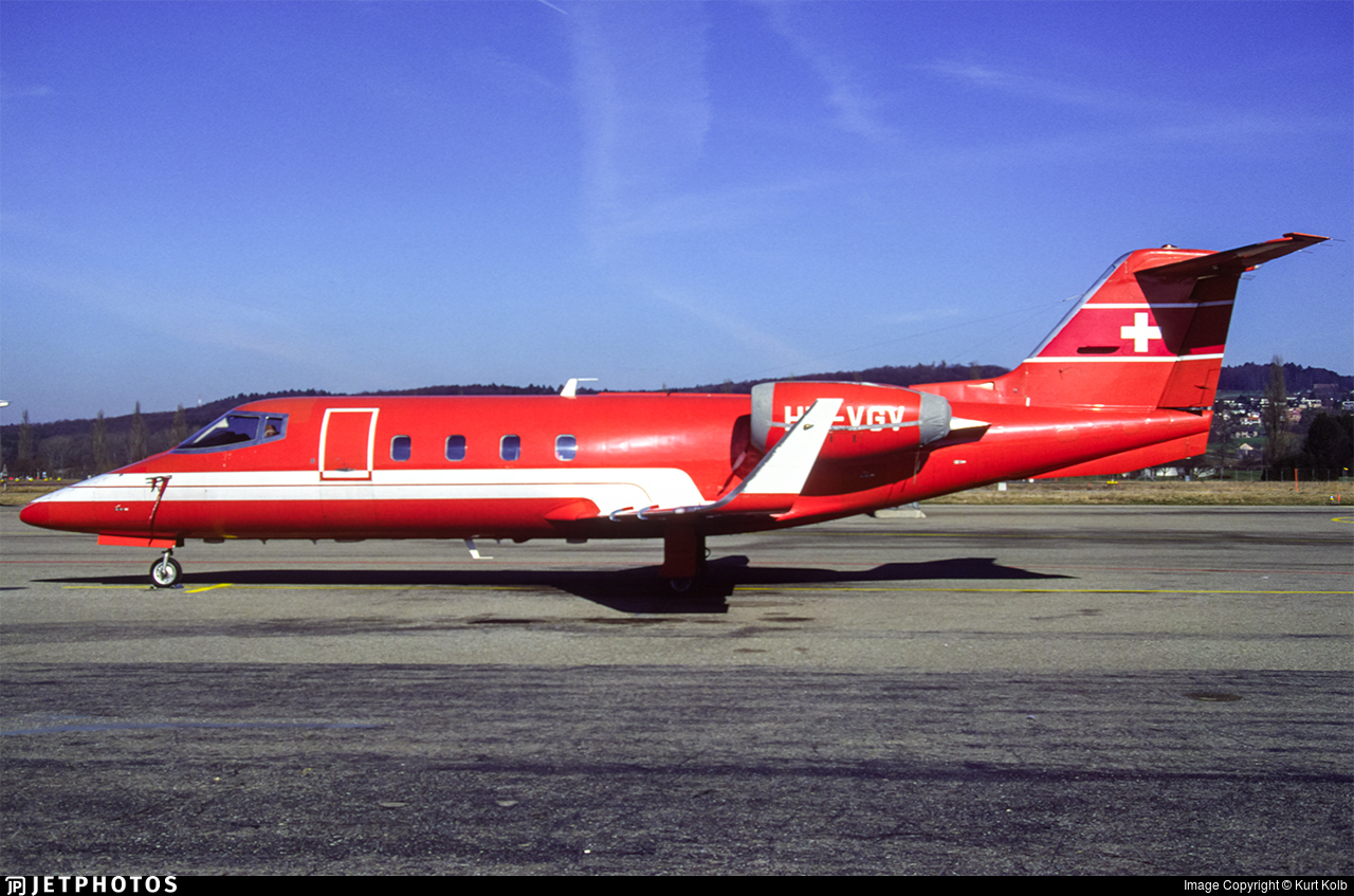 HB-VGV - Bombardier Learjet 55 - Private