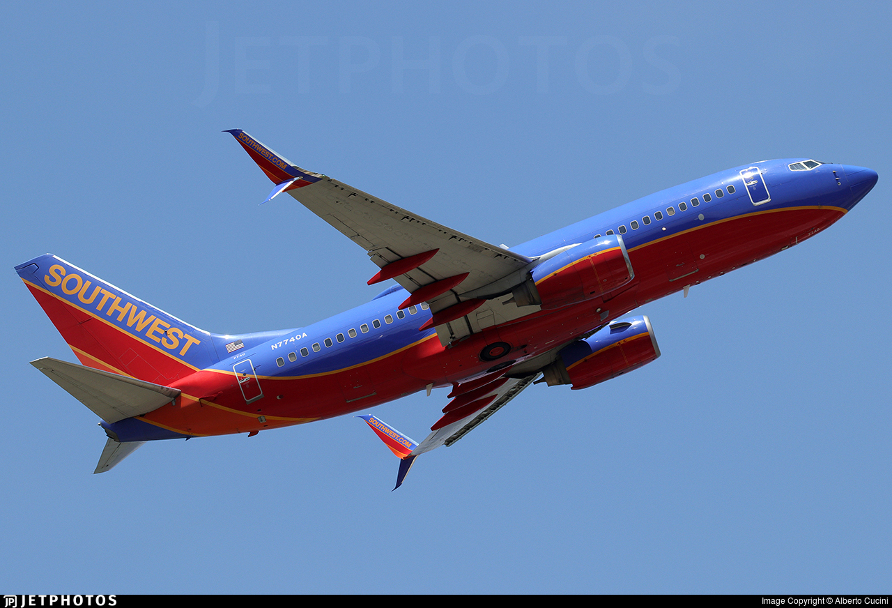 N7740A - Boeing 737-7BD - Southwest Airlines