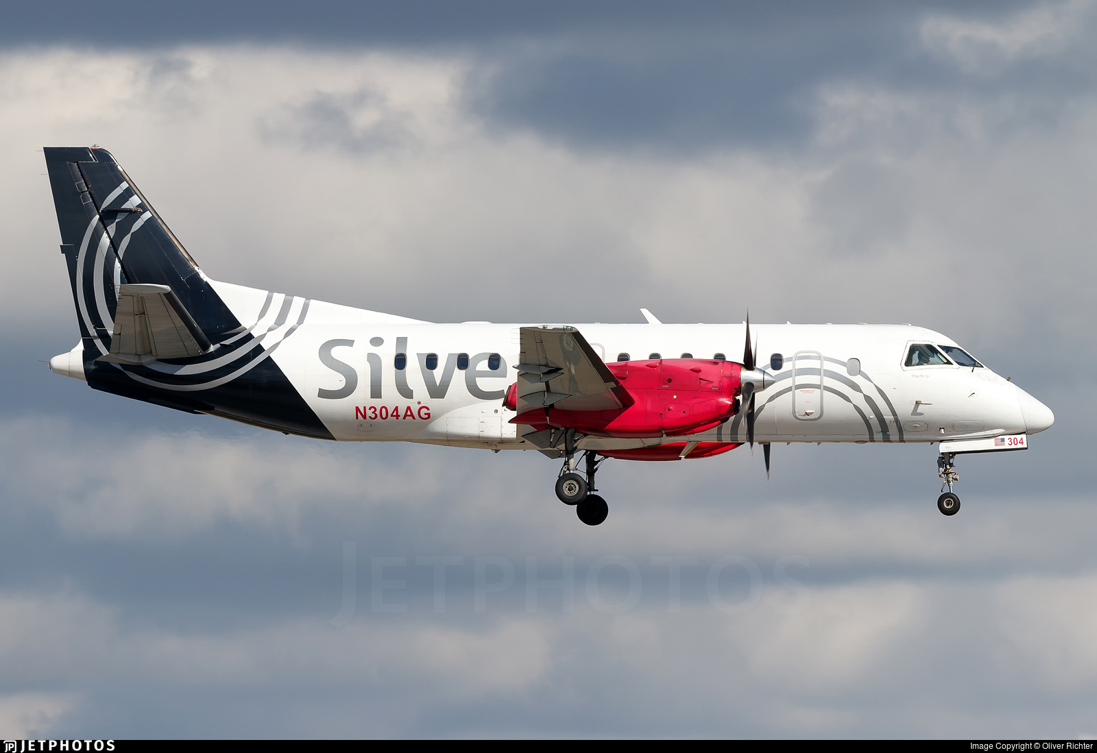 N304AG - Saab 340B - Silver Airways