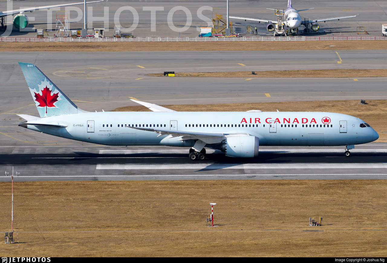 C-FRSA - Boeing 787-9 Dreamliner - Air Canada