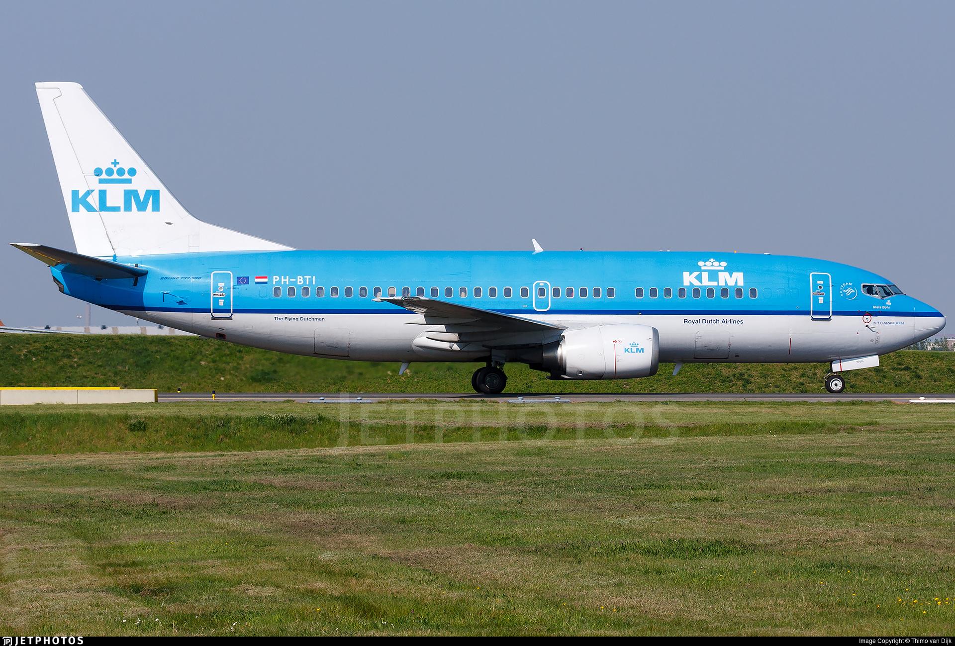 PH-BTI - Boeing 737-306 - KLM Royal Dutch Airlines