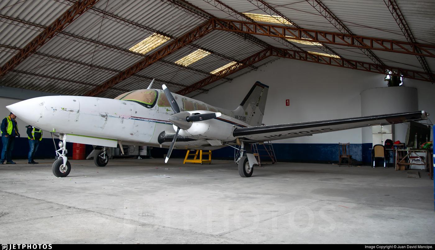 HK-3065 - Cessna 402C - Aviocharter Colombia