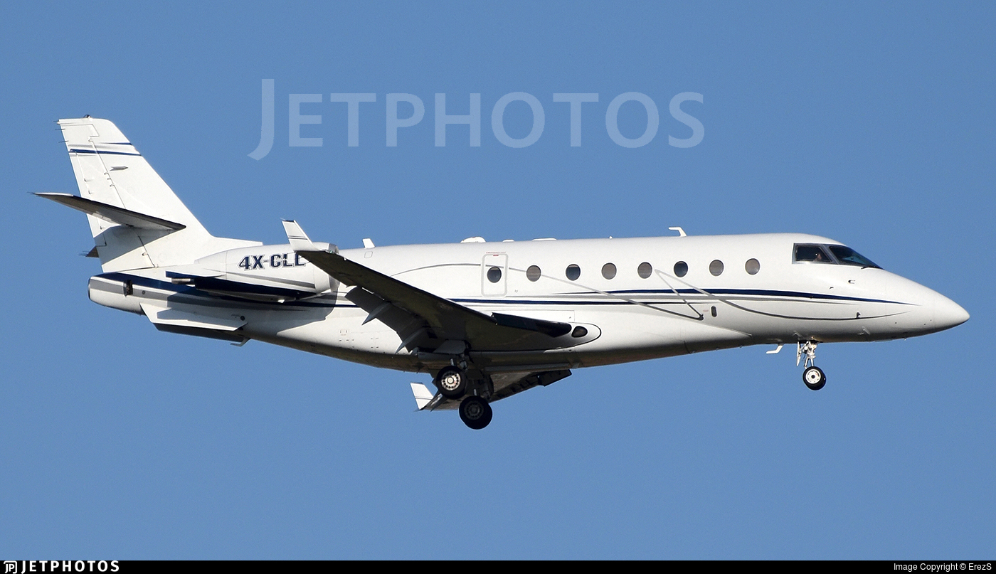 4X-CLL - Gulfstream G200 - Private