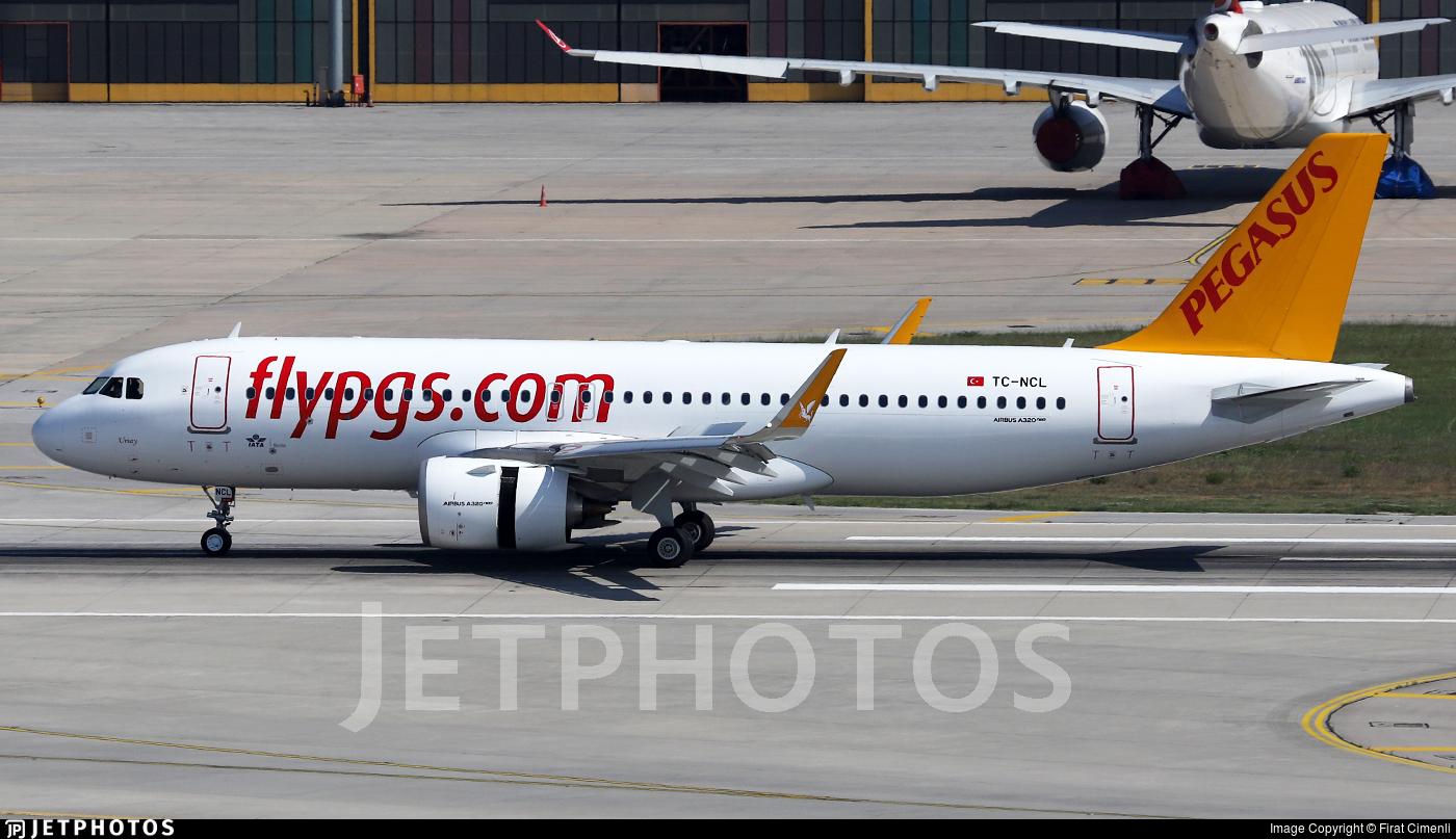 TC-NCL - Airbus A320-251N - Pegasus Airlines
