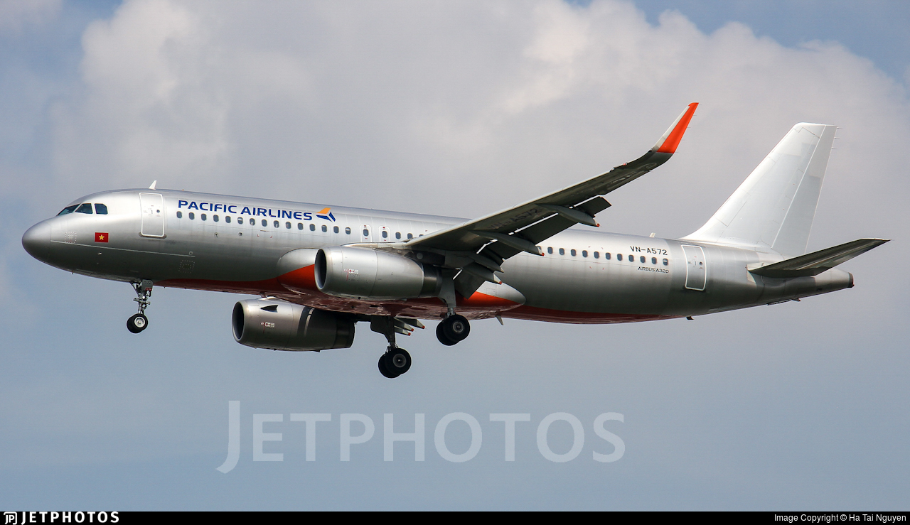VN-A572 - Airbus A320-232 - Pacific Airlines