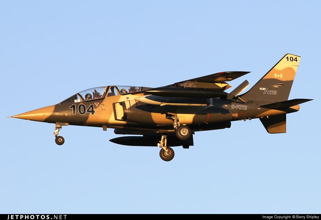 C-FHTO - Dassault-Dornier Alpha Jet A - Top Aces