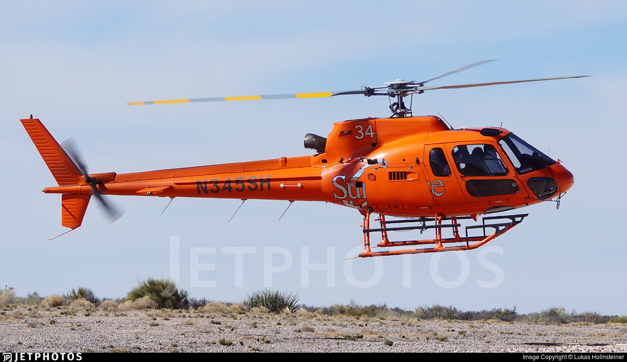 N345SH - Eurocopter AS 350B2 Ecureuil - Sundance Helicopters