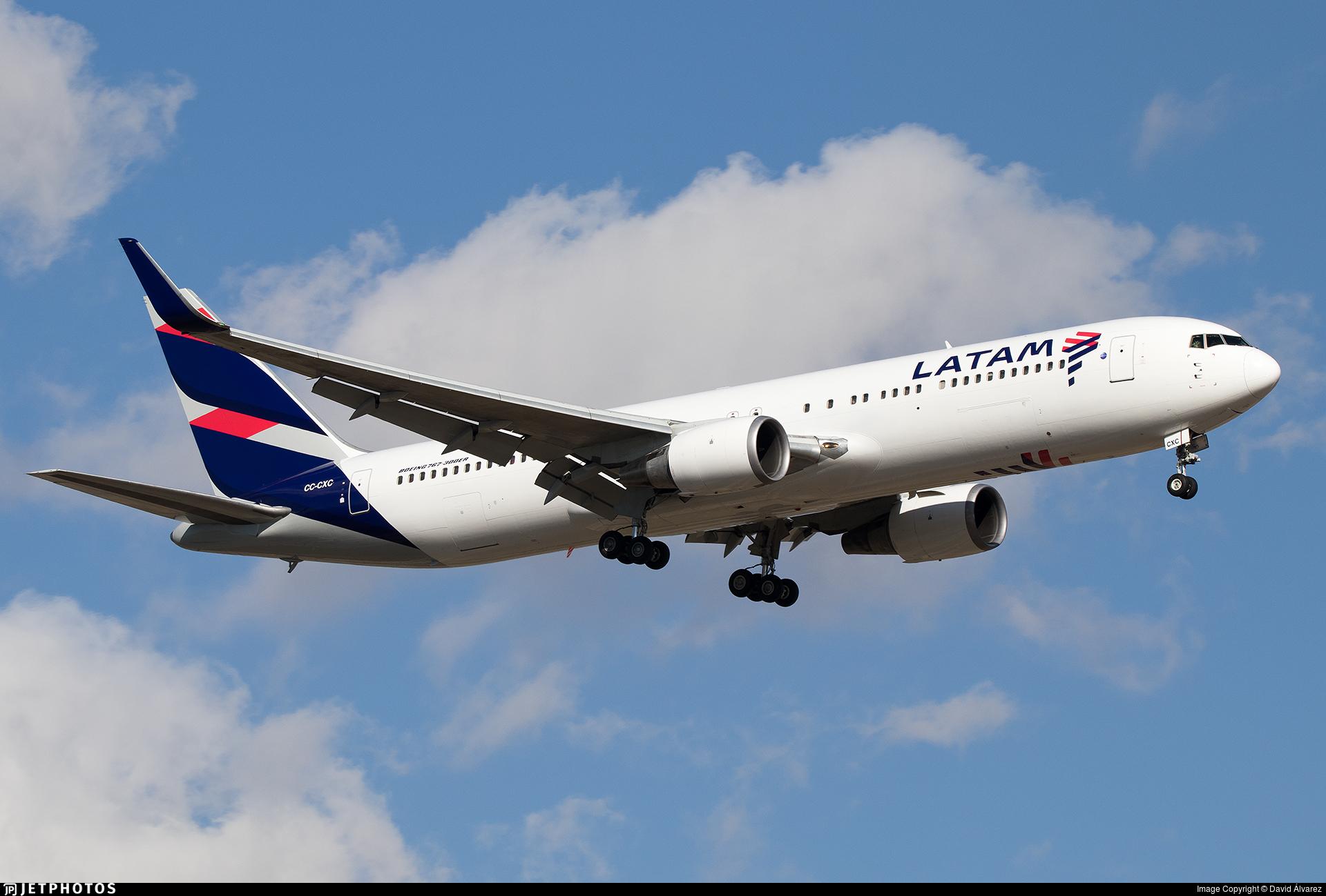 CC-CXC - Boeing 767-316(ER) - LATAM Airlines