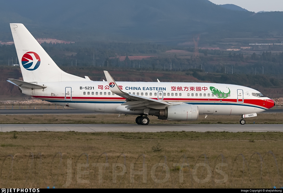 B-5231 - Boeing 737-79P - China Eastern Airlines