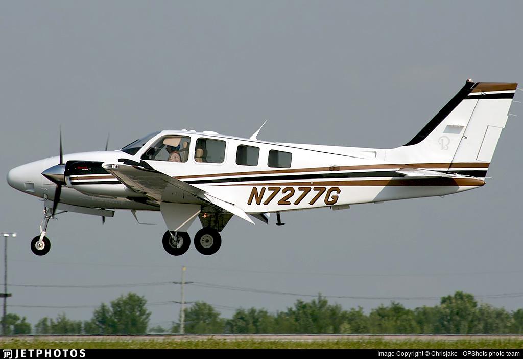 N7277G - Beechcraft G58 Baron - Private