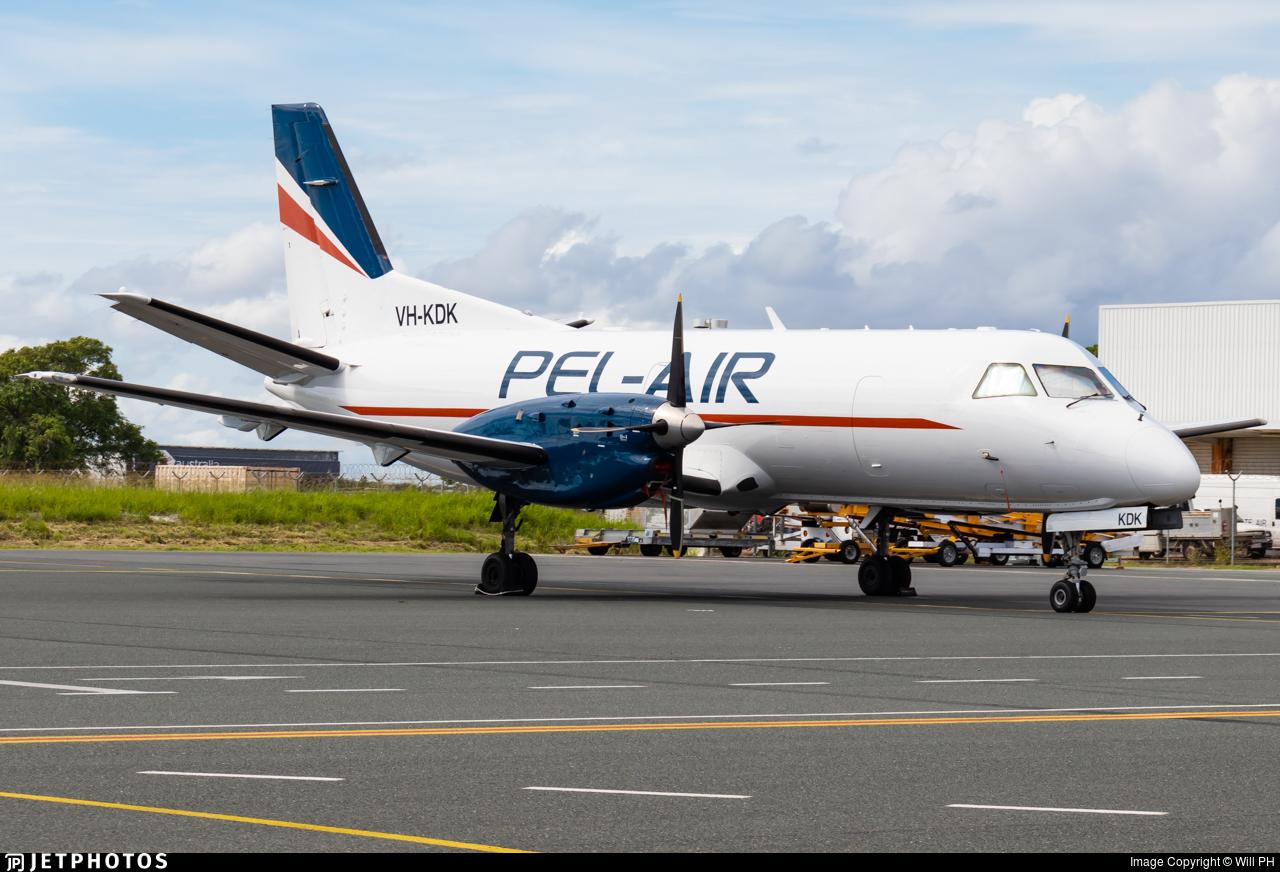 VH-KDK - Saab 340A - Pel-Air Aviation