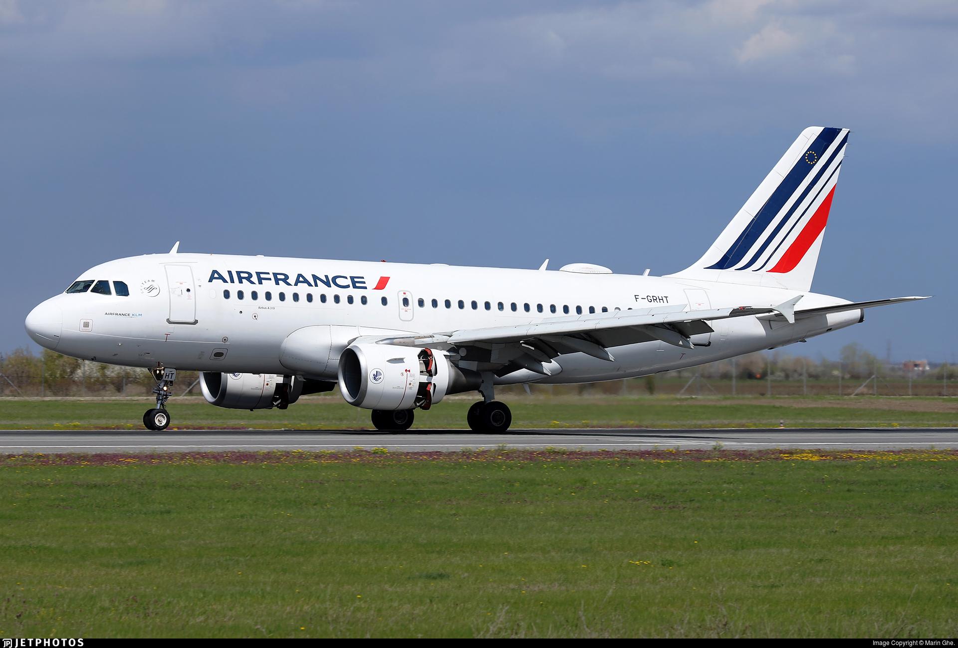 F-GRHT - Airbus A319-111 - Air France