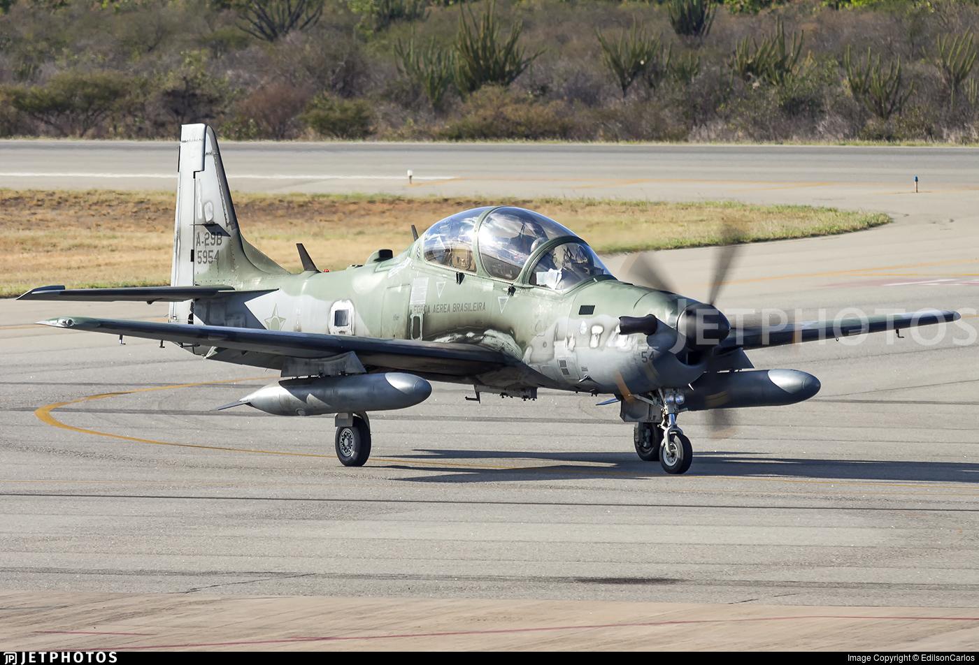 FAB5954 - Embraer A-29B Super Tucano - Brazil - Air Force