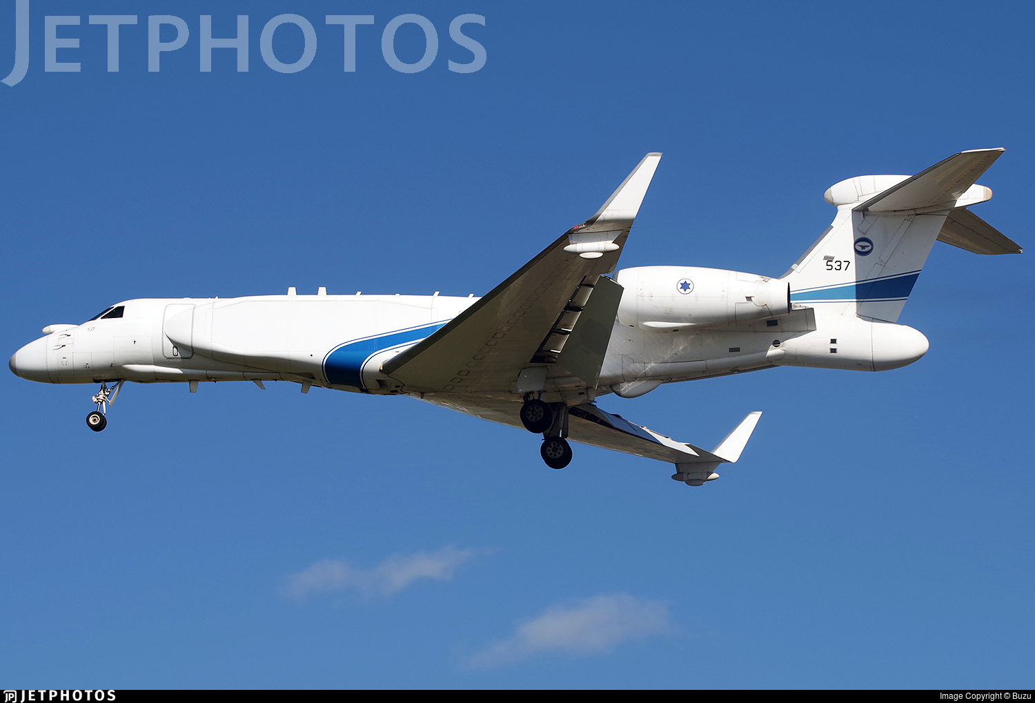 537 - Gulfstream G550 Nachshon - Israel - Air Force