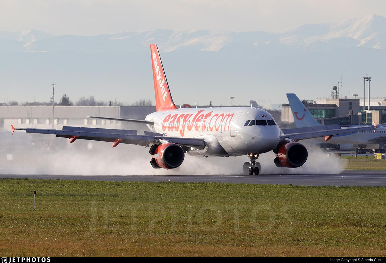 OE-LKH - Airbus A319-111 - easyJet Europe