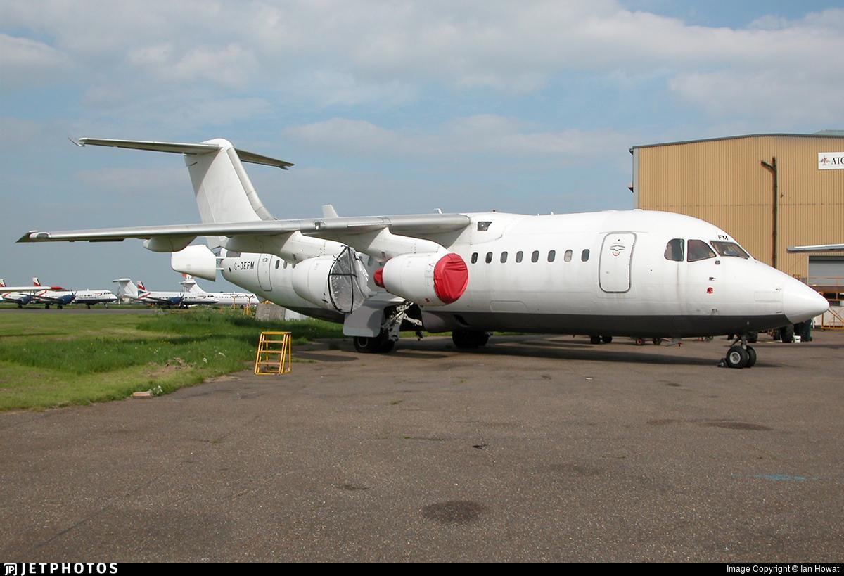 G-DEFM - British Aerospace BAe 146-200 - Flightline